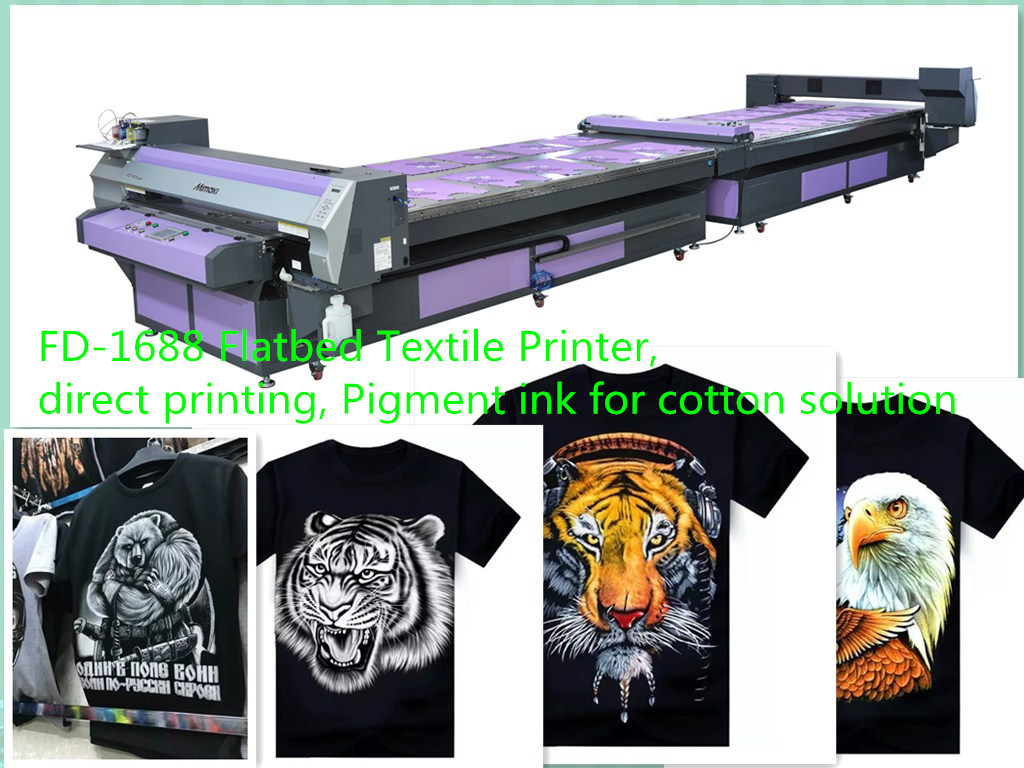 Digital Direct Printing with Mimaki Printer