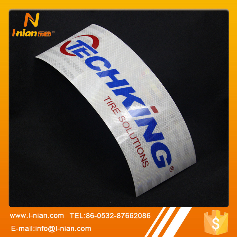 Custom Printing 3m Reflective Sticker for Tyre
