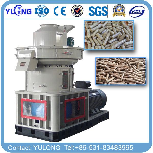 2-3 T/Hour Big Capacity Vertical Ring Die Wood Pellet Machine