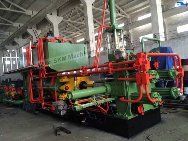 Effieient Hydraulic Extrusion Press with Rexroth Pump