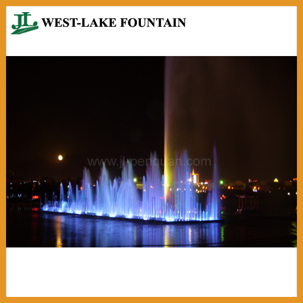 Music Dancing Water Fountain with Floating System for Lake