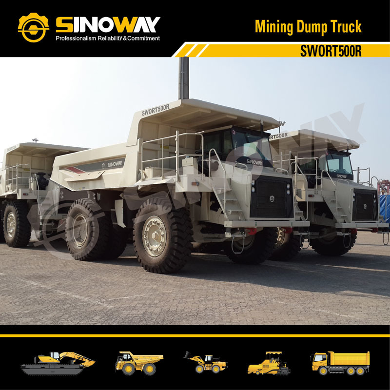 Rigid Dump Truck, Mining Truck with 45 Ton Loading Capacity