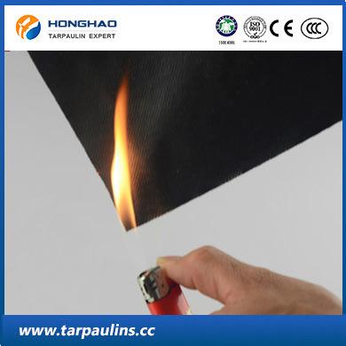 High Quality Glass Fiber Fireproof Tarpaulin/Tarp Fabric