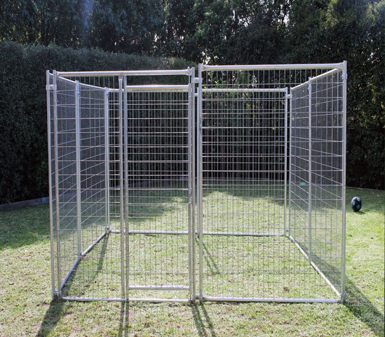 6FT Lowes Dog Kennel and Runs, Welded Wire Mesh Dog House