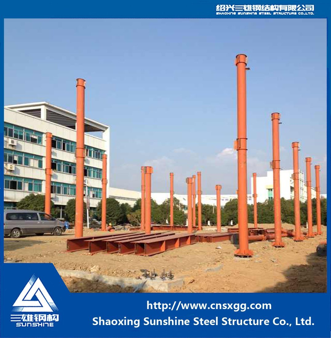Light Weight Steel Structure Exhibition Hall