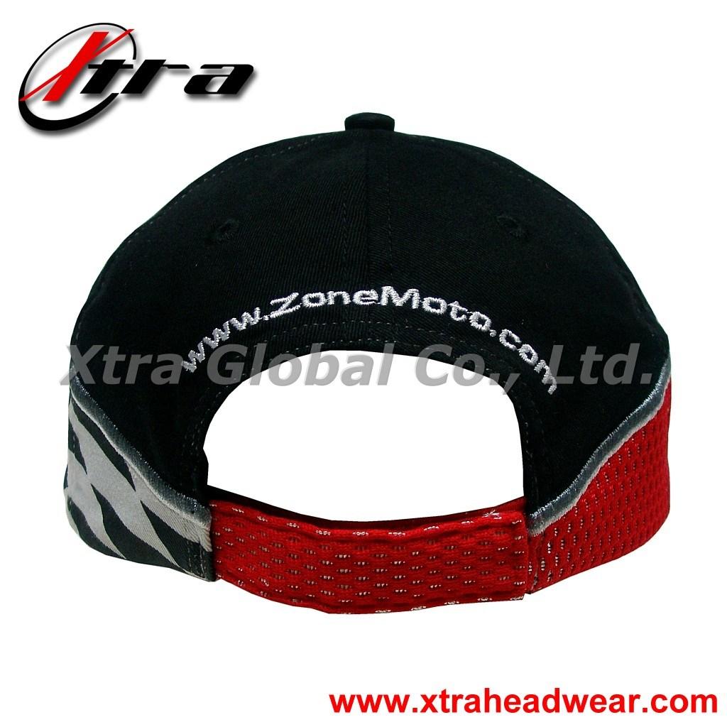 Racing Embroidery Baseball Cap (XT-R002)
