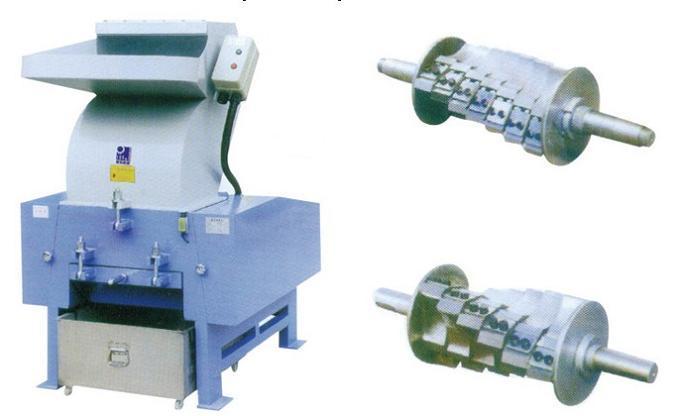 plastic corrugeted pipe crusher crushing machine   china