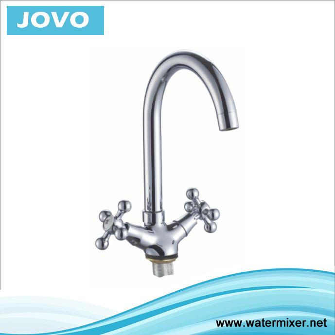 Sanitary Ware Nice Design Double Handle Kitchen Mixer&Faucet Jv74205