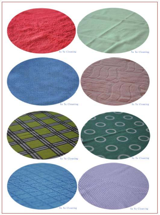 Various Styles Microfiber Cleaning Cloth