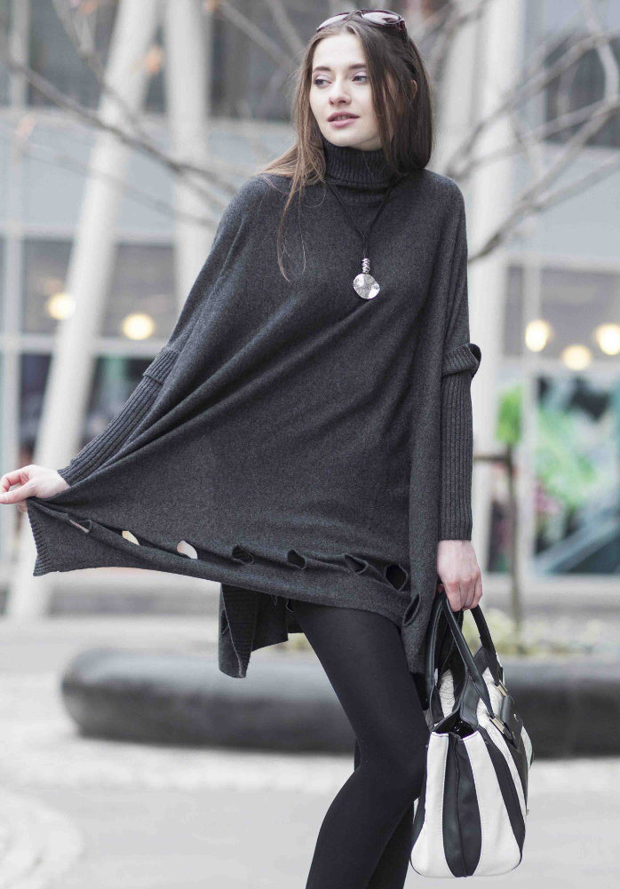 Ladies′ Fashion Cashmere Sweater (1500002077)