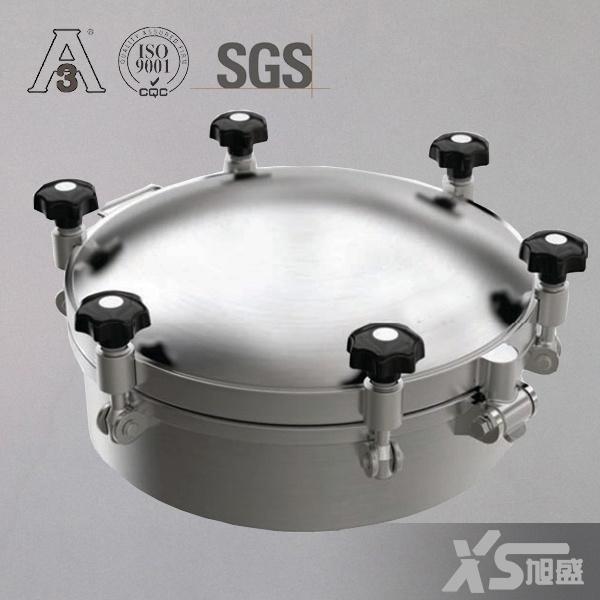 Stainless Steel Sanitary Non Pressure Round Manway