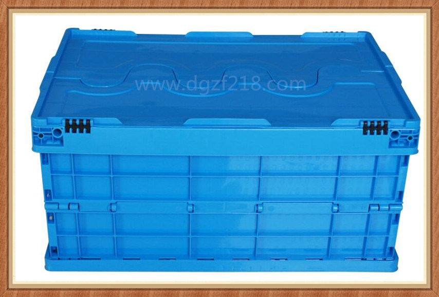 2015 New Style Theftproof Folding Plastic Storage Container for Sale