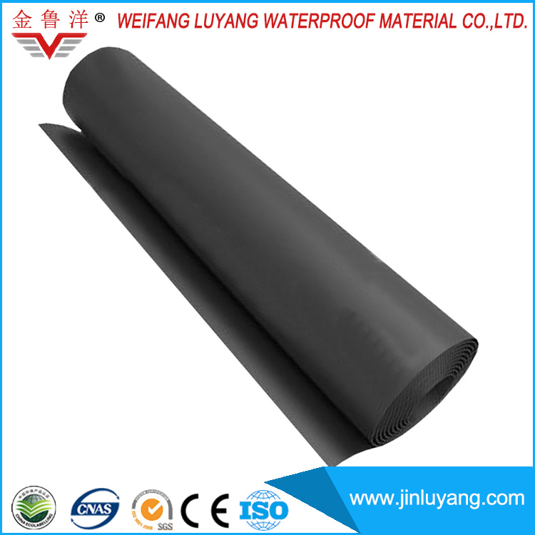 China Top Quality EPDM Rubber Roofing Waterproof Membrane for Flat Roof