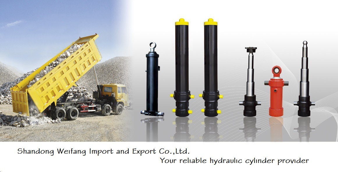 Telescopic Cylinder for Self Dump Truck