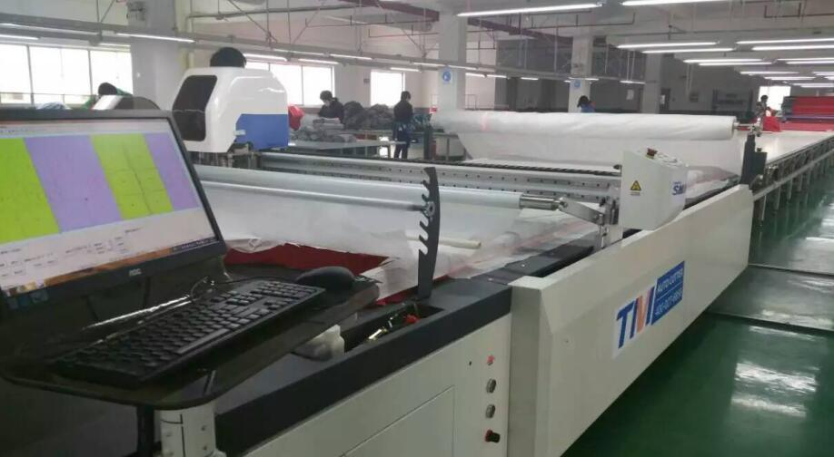 Tmcc-2025 Fabric Cutter Cam Digital Cutting System for Fabric Cutting