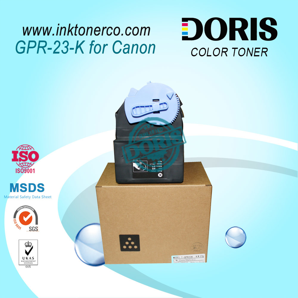 Compatible Premium Refillable Toner Cartridge Gpr23 C-Exv21 Npg35 Color Copier Toner IR C2550 C2880 C3080 C3380 C3480 for Canon Irc3380