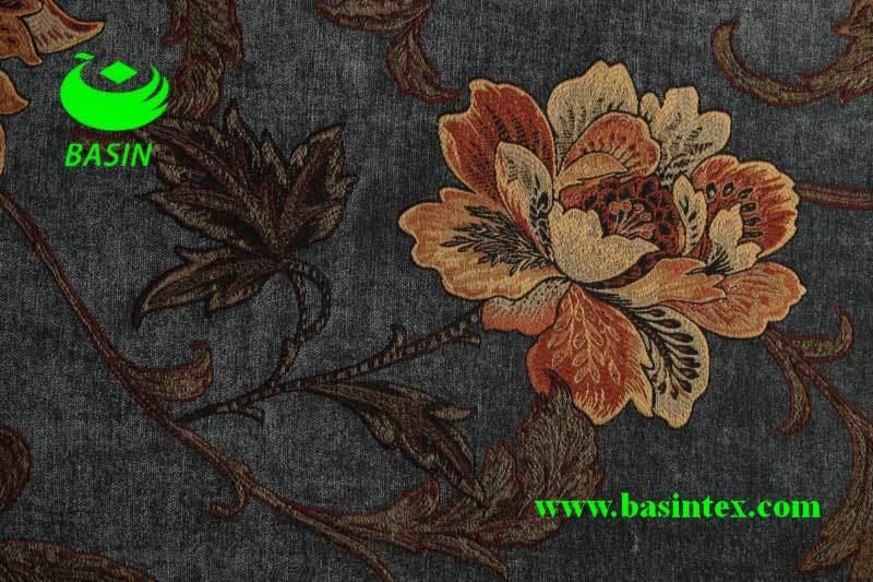 Jacquard Chenille Fabric (BS7006)