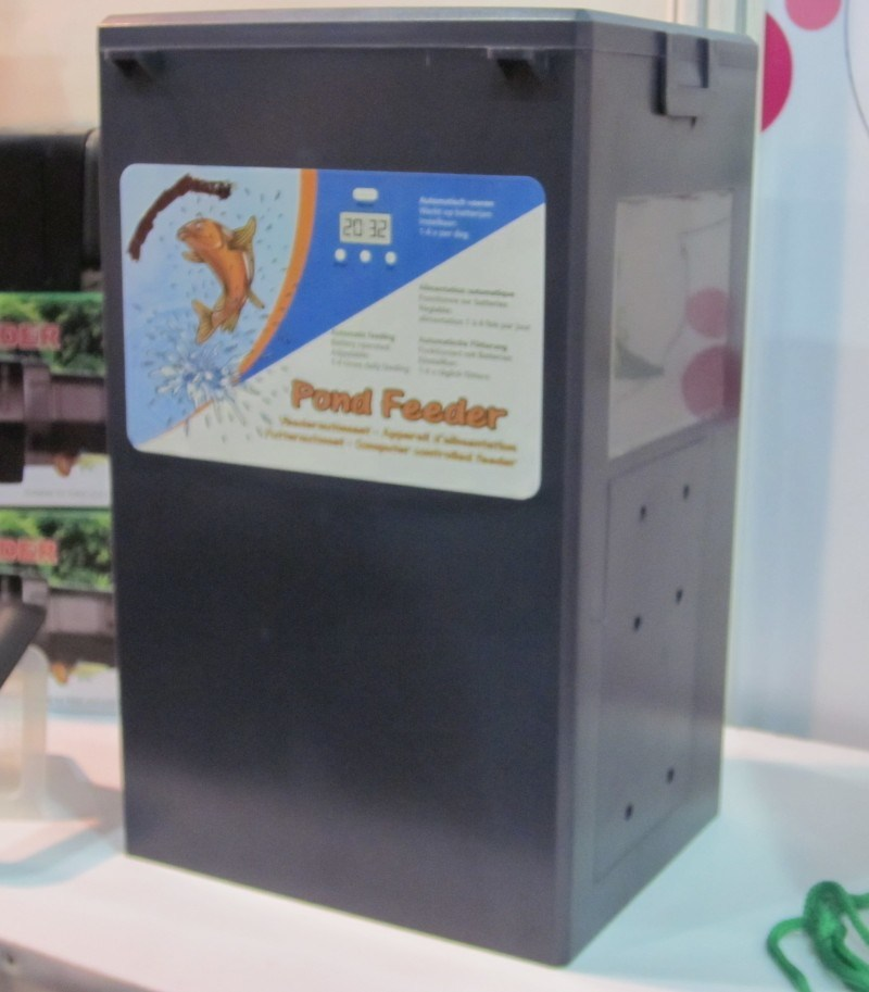 China Auto Pond Fish Feeder China Aquarium Auto Feeder Auto Fish Feeder