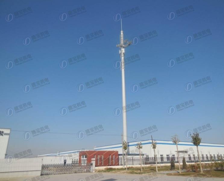 High Quality Landscape Monopole Tower