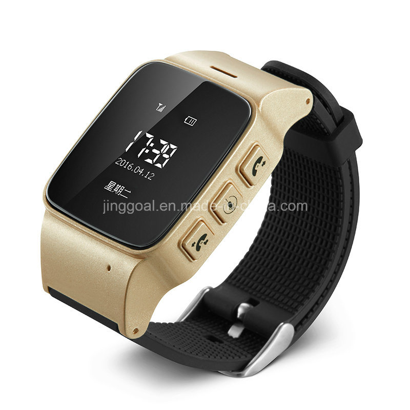 Smart Waterproof Tracking Locator Elderly GPS Tracker Watch for Old Man