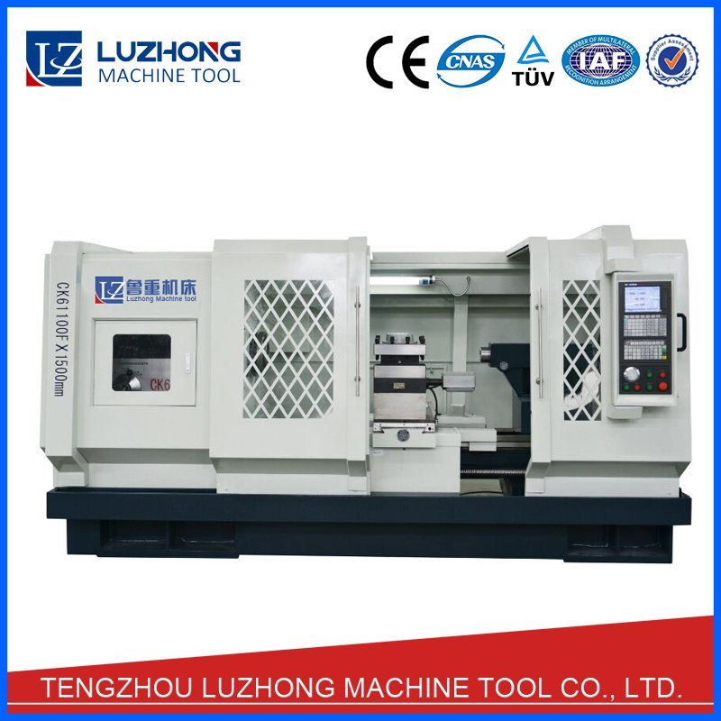 Large Heavy Duty CNC Lathe Machine with Specifications (CK6180F CK61100F CK61125F)