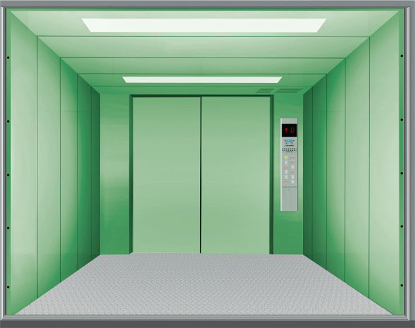 Shandong Fujizy Car Elevator Price / Elevator Manufacture with Energy-Saving System (operation box with double buttons)