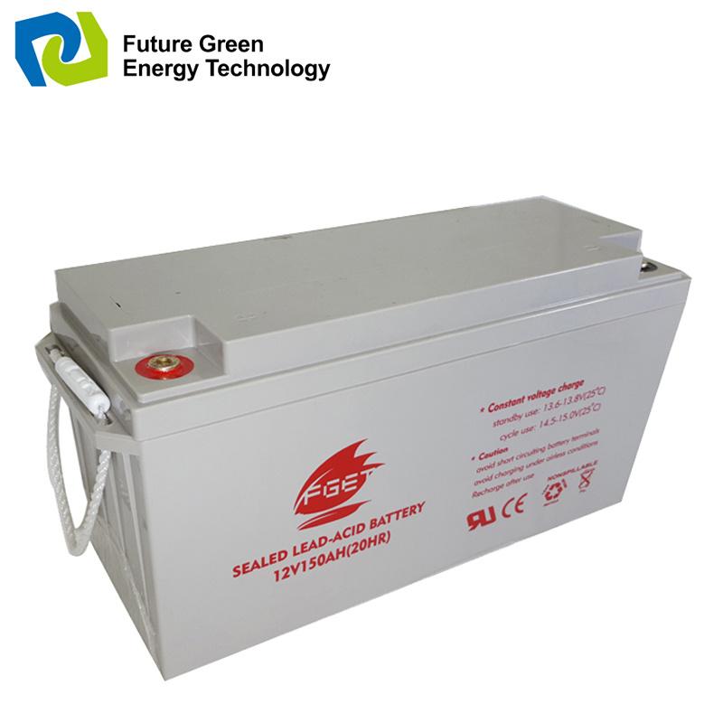 12V150ah Valve Regulated Solar Sealed Lead Acid Storage Battery Manufacturer
