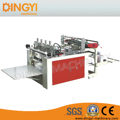 Double Servo Motor Control T-Shirt Bag Making Machine
