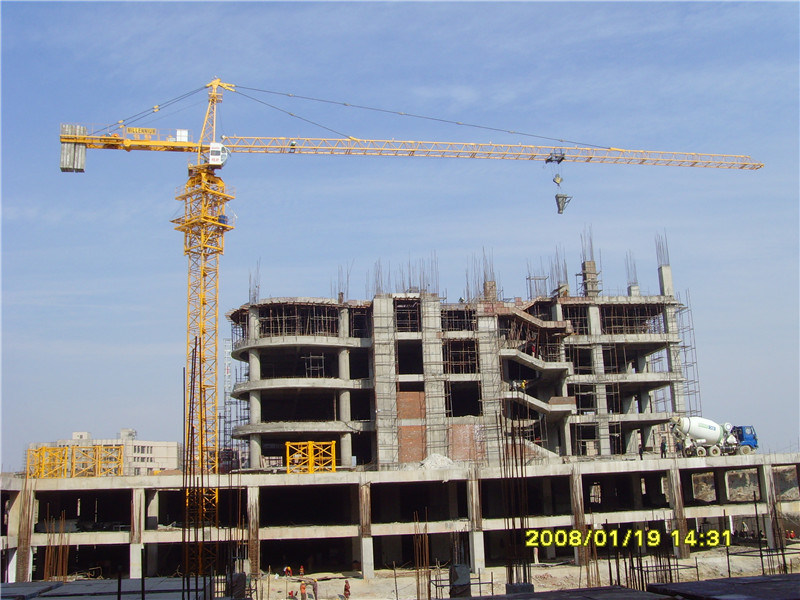 Crane Corporation in China Hstowercrane