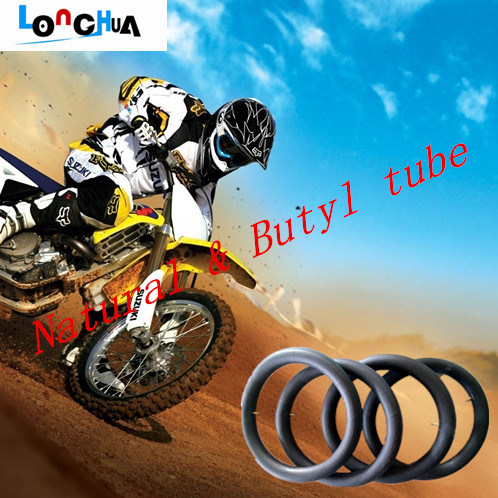 Qingdao Factory Manufactures High Quality Butyl Motorcycle Inner Tube (250-17)