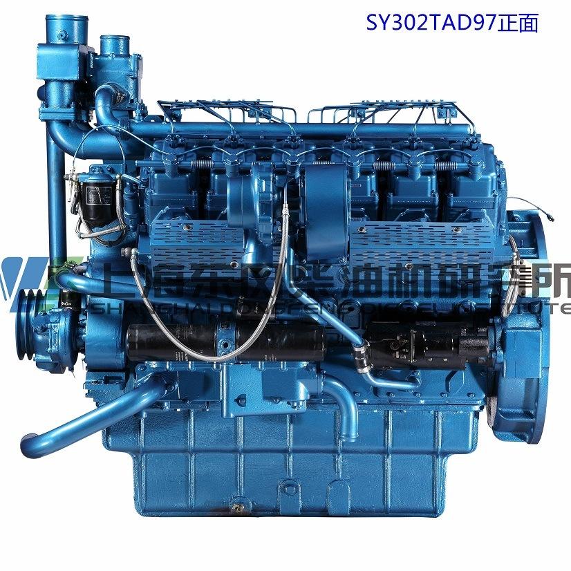 12cylinder, Cummins, 308kw, Shanghai Dongfeng Diesel Engine for Generator Set,