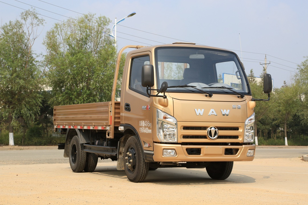 Light Truck with 1700mm Single Row Seat Cabin