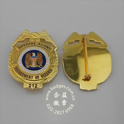 Military Badge, Metal Cop Badge, Metal Badge (GZHY-BADGE-004)