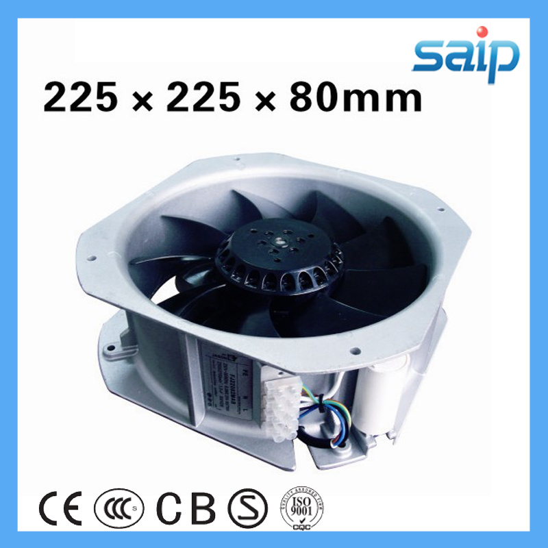 Electric AC DC Industrial Blower Brushless Axial Fan with Filter