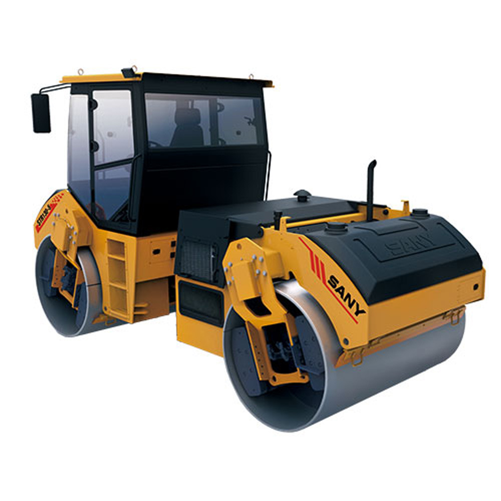 Sany Str130-6 13 Ton Capacity Double Drum Walk Behind Vibratory Roller