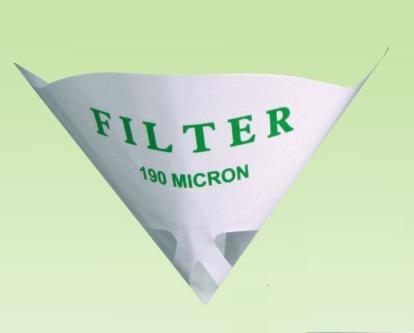 Factory Sell Disposable Nylon Mesh Paint Strainer with Logo Printing 190micron