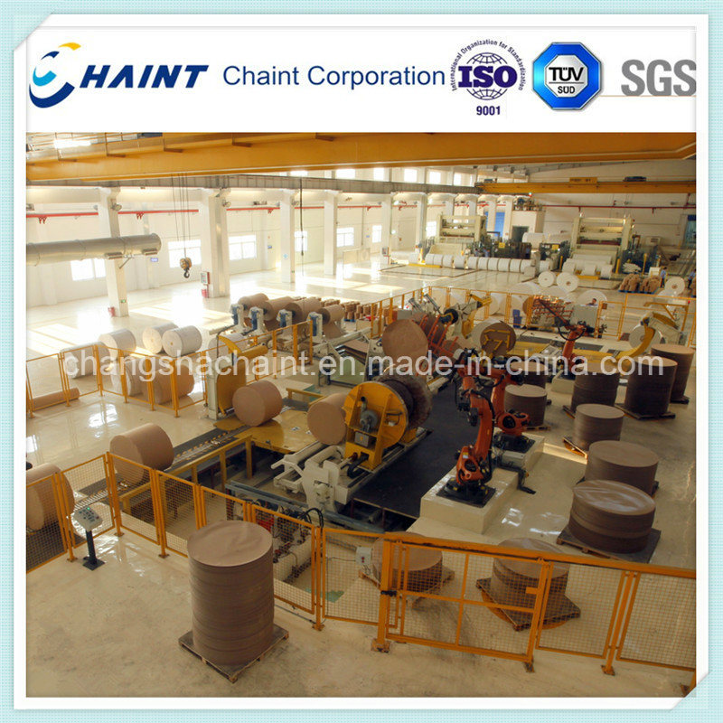 Paper Mill Roll Wrapping Machine
