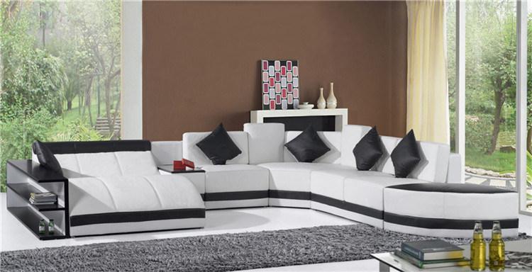 Home Furniture New Design Living Room Leather Sofa (HC1100)