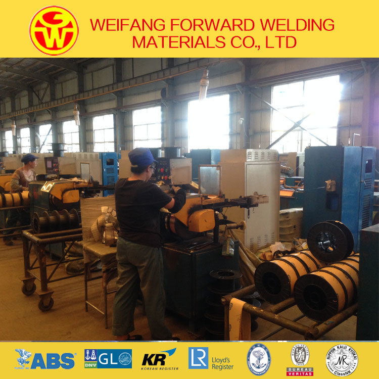 0.9mm Er70s-6 CO2 Copper Coated MIG Welding Wire of Golden Bridge Quality ISO9001