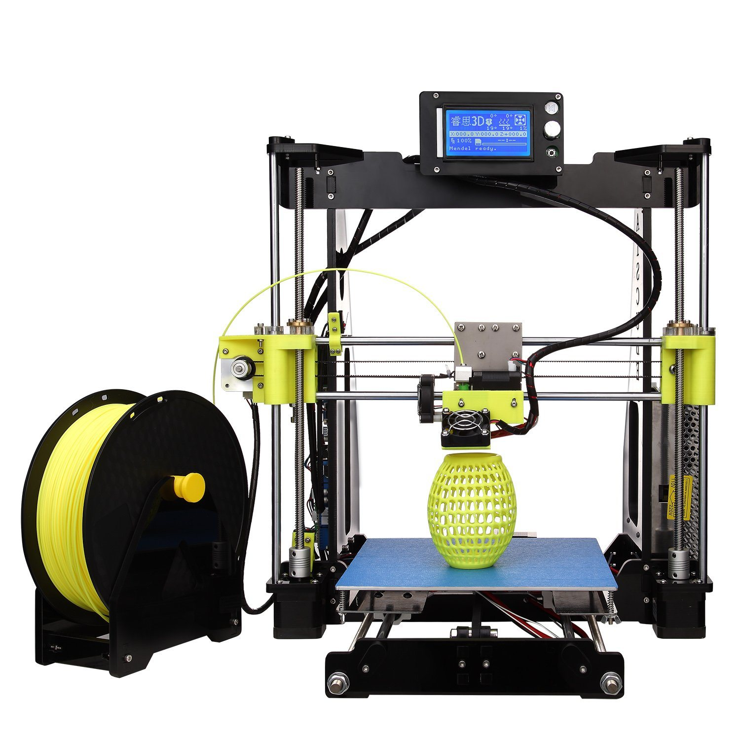 Raiscube R2 High Performance Rapid Prototype DIY 3D Printer Machine