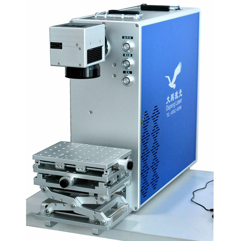 Laser Marking Machine Supported Materials Included Metal and Non-Metal