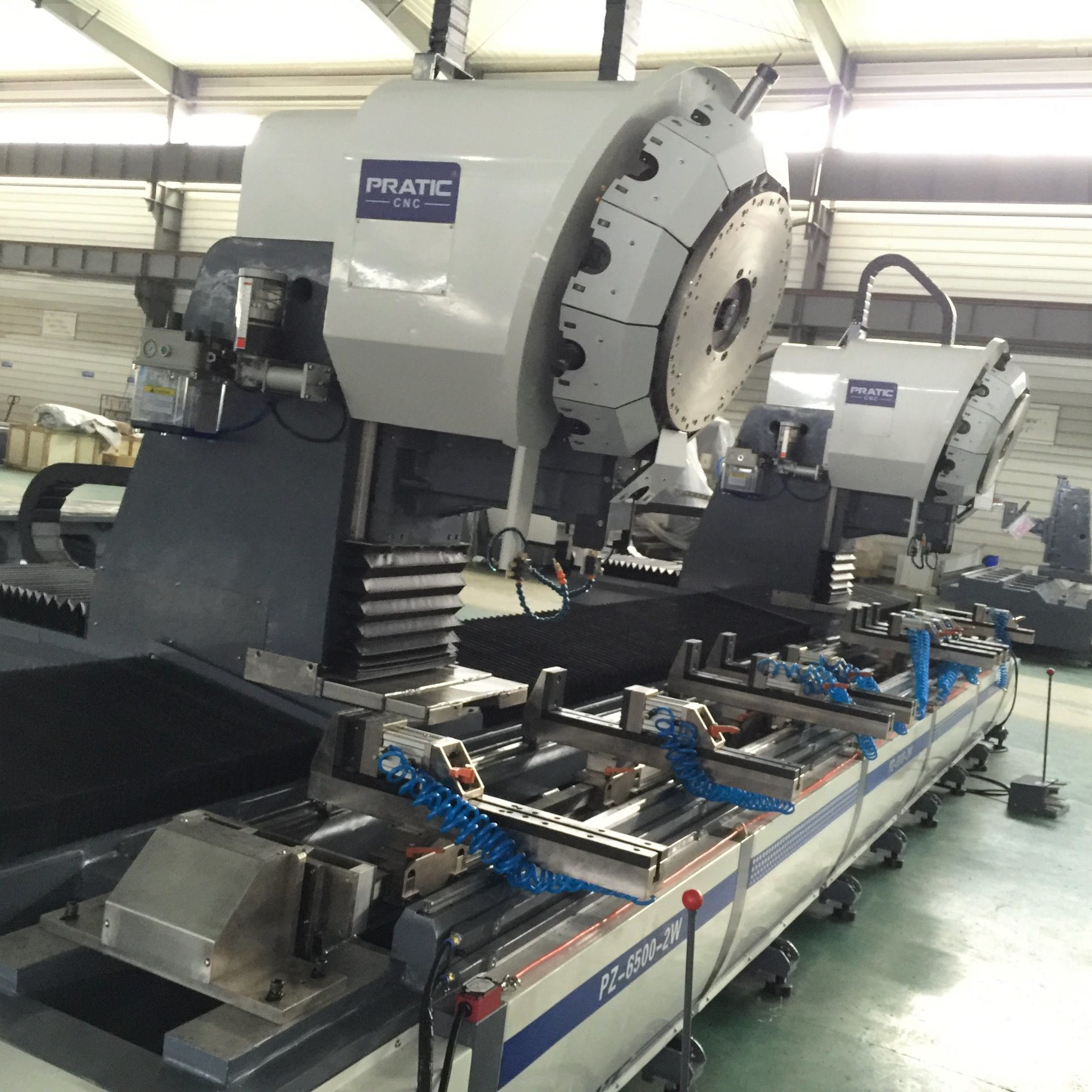 CNC Auto Parts Milling Machining Center- (PZA-CNC6500-2W)