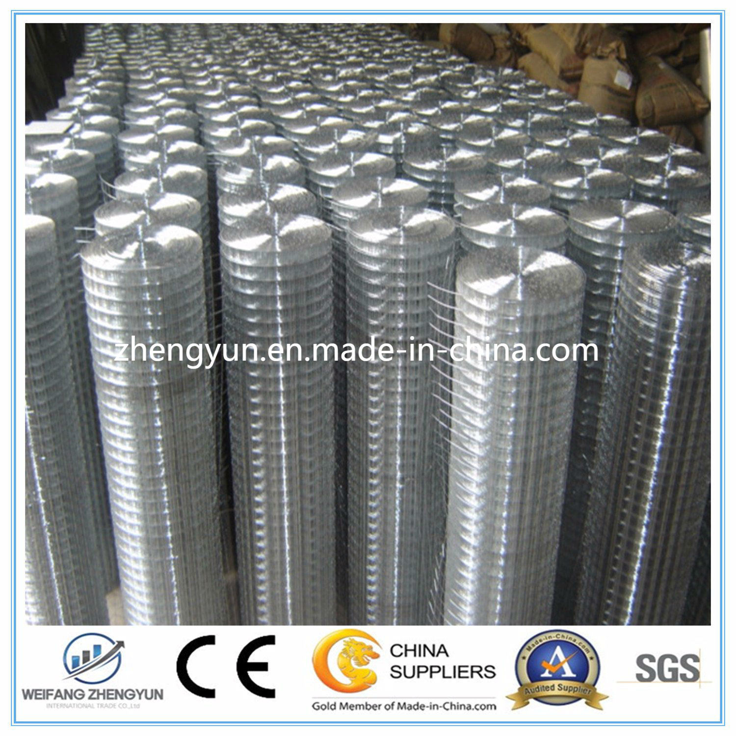Best Selling Products in Europe Welded/Galvanized Wire Mesh