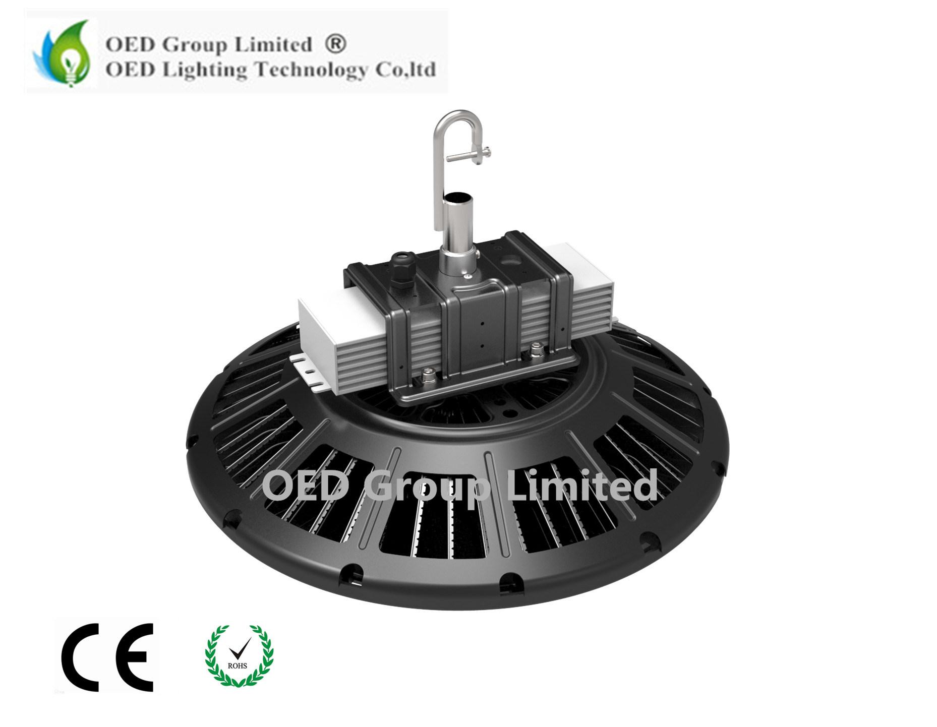 Hot Sale High Lumen E39 E40 UFO LED High Bay Light 200W Industrial Light with PC Lens