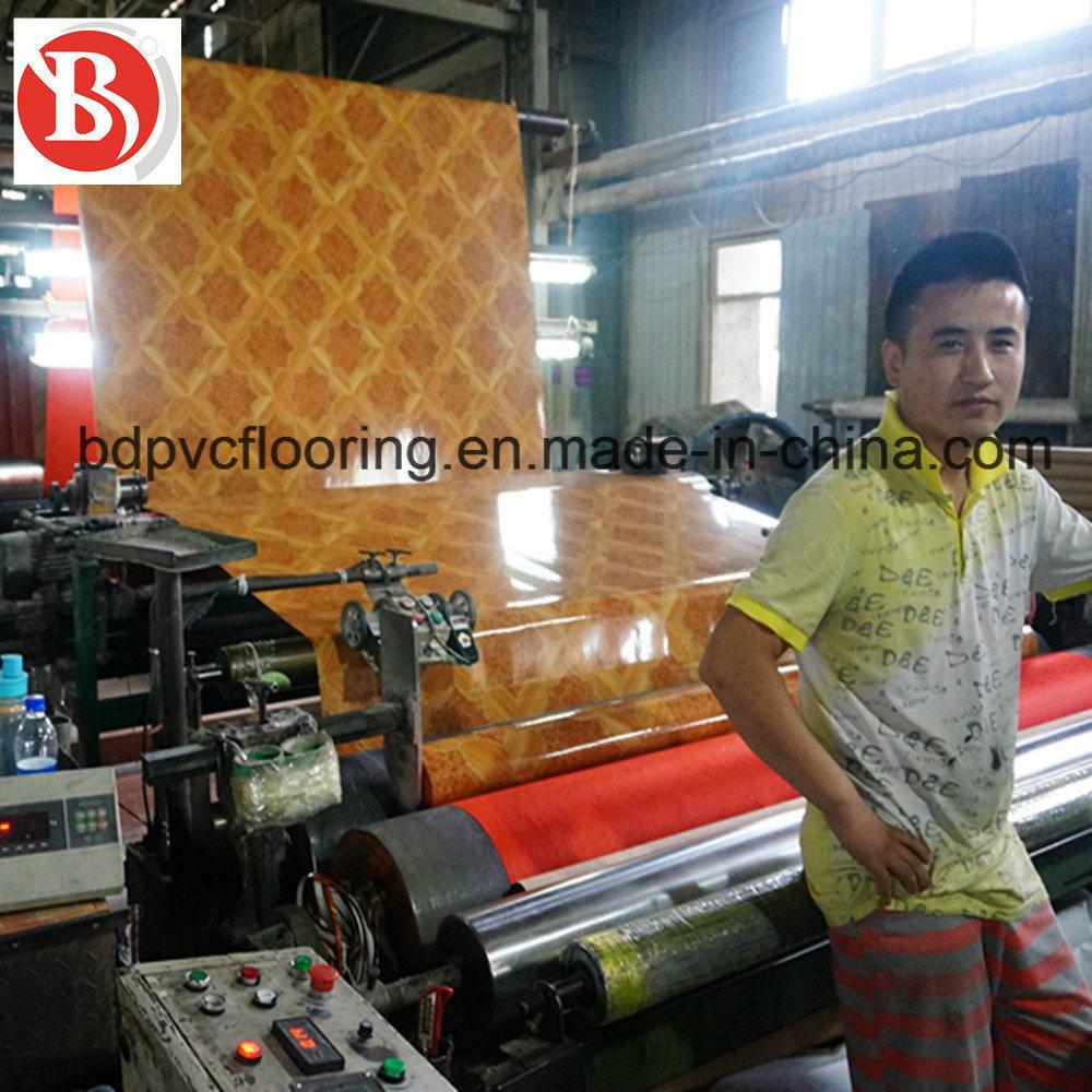 0.7mm Non-Woven Backing PVC Flooring Rolls Wholesale, Linoleum Flooring Rolls