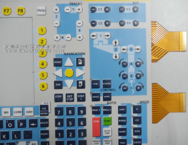 Board Control Manufactor Flexible Printed Membrane Panel FPC Circuit