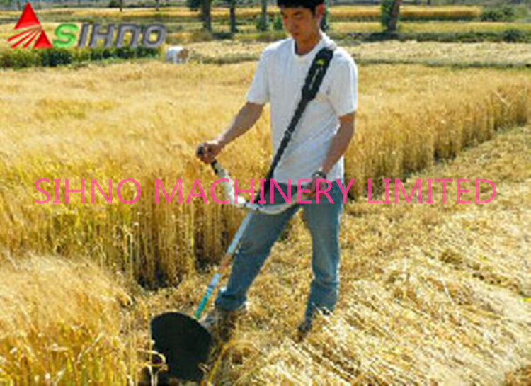 Now Small Multi-Purpose Lawn Rice Harvester