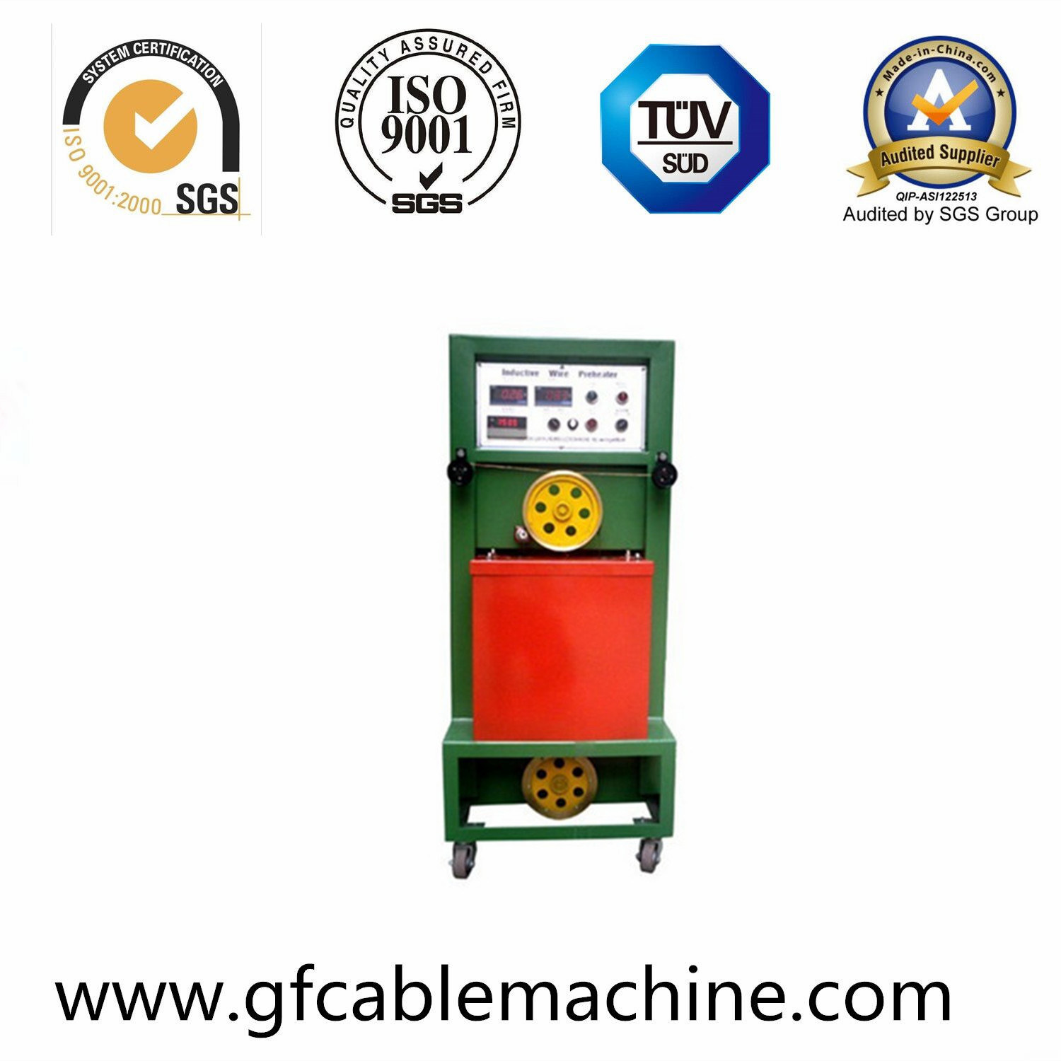 Plastic PVC Wire Cable Extruder Machinery