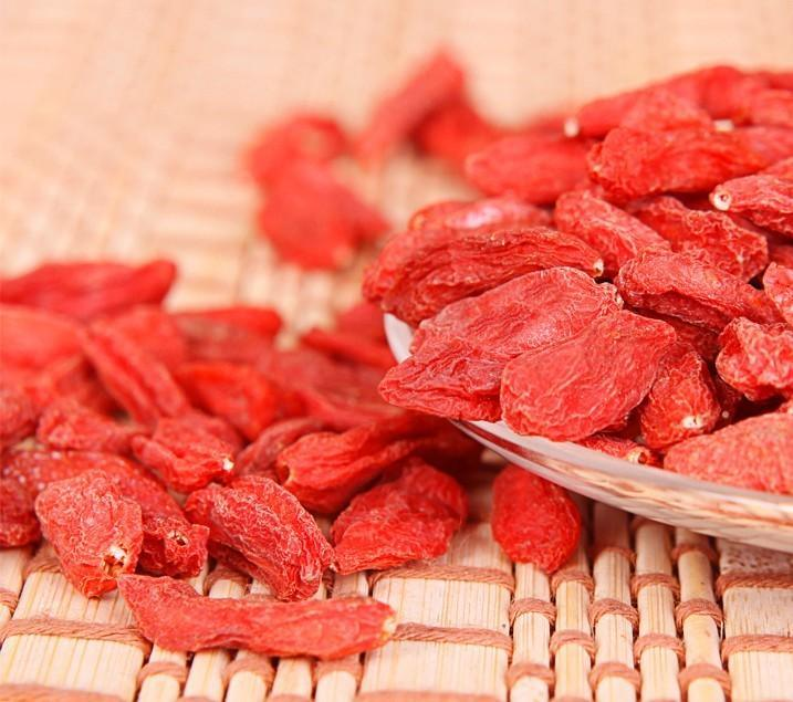 Dried Goji Berries From Ningxia, China with Various Size