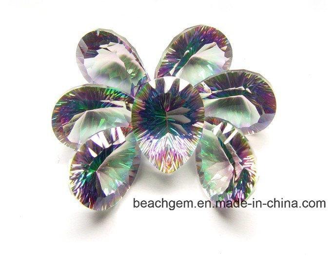 Rainbow Mystic Quartz or Topaz for Jewellery Setting